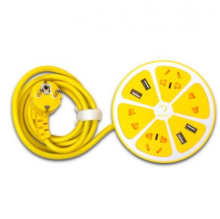 Мережевий фільтр- подовжувач Smart Fruit PS-44