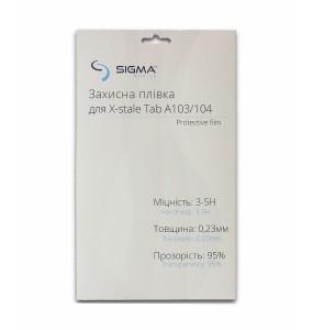 Захисна броньована плівка з поліуретана для екрана Sigma mobile X-style TAB A103/A104
